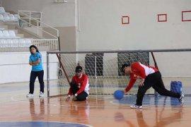Karaman'da, Goalball 2. Lig Müsabakaları Başladı