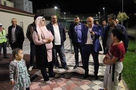 Hizmete açılan Muhammet Yalçın Seyir Terasları göz kamaştırıyor
