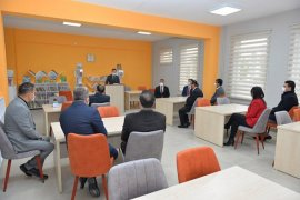Şehit Birol Öztekin Kütüphanesi Açıldı