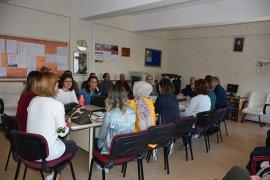 Çalışkan, Okul Ziyaretlerinde Öğretmen ve Öğrencilerle Buluştu