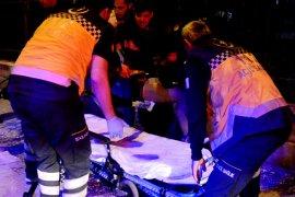 Bacağına demir korkuluk saplanan öğrenciyi itfaiye kurtardı