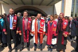 Rektör Akgül, Yükseköğretim Akademik Yılı Açılış Törenine Katıldı