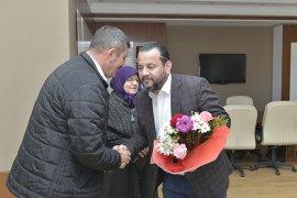 Rektör Akgül, Şehit Ailesini Ağırladı