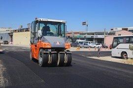 Karaman Belediyesi 'nin Asfaltlama Çalışmaları Sürüyor