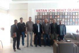 Yeniden Refah Partisi Şehit Aileleri  Derneği Ziyaret Etti