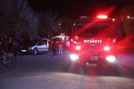 Hasta abisi için geldiği Karaman'da aracı kundaklandı