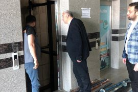 Abidin Çağlayan Devlet Hastanesi Hastane Yönetimini Ziyaret Etti.