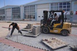 TEKMARSAN'DA Yol Çalışmalar Başladı
