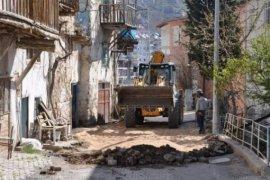 Ermenek'te Parke Tamir Ve Yenileme Çalışmaları Devam Ediyor