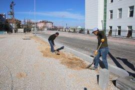 Belediye Yaz – Kış Demeden Çalışmalarına Devam Ediyor