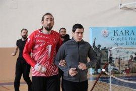 Goalball Erkek Milli Takımı Karaman'da Enerji Topluyor