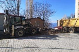 Ermenek'te  Kilitli Parke Çalışmaları Devam Ediyor