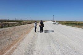Köylerdeki Yol Çalışmaları Yerinde İncelendi