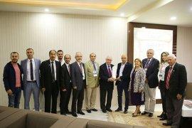Milli Olimpiyat Komitesinden Başkan Çalışkan'a Ziyaret