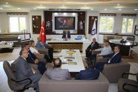 Ahilik Haftası Kutlama Komitesinden  Başkan Ertuğrul Çalışkan'a Ziyaret