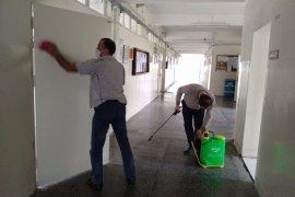 Okullar Koronavirüse Karşı Dezenfekte Ediliyor