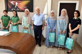 İyilik Okulları Projesinin Türkiye Birincilerinden Kuntoğlu'na Ziyaret