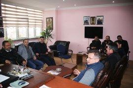 Başkan Çalışkan Karaman ESOB Ve Oda Başkanlarıyla Bir Araya Geldi