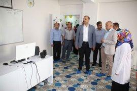Zeyve Sultan Camii Kur'an Kursu Başkan Çalışkan Tarafından Açıldı