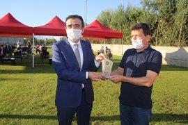 Karaman Belediye Spor Şampiyonluk Kupasını Aldı