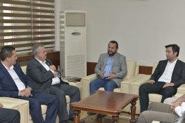 Ak Parti Karaman Milletvekili Adaylarından Rektör Akgül'e Ziyaret