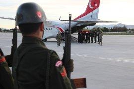 Şehit Uzman Onbaşı Emre Dut'un naaşı Konya'da
