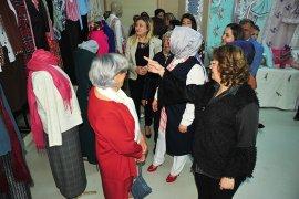 Osman Gazi Hanımlar Lokali'nden Karma El Sanatları Sergisi