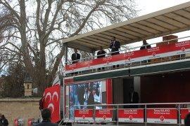 Seçim Tırı Çalışmalarına Aktekke Meydanından Start Verdi