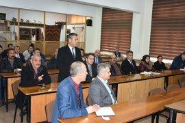Halkla Buluşma Ve Güvenlik Toplantısı Yapıldı