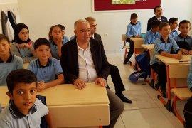 Başkanı Çağlayan Öğrencilerin  İlköğretim Haftasını Kutladı