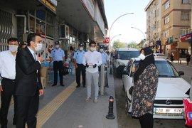 Başkan Kalaycı Molla Fenari Caddesindeki Esnafları Denetledi