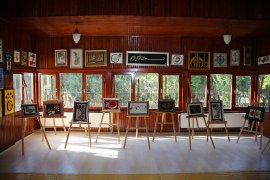 Engelli Dinlenme Evi'nden El Sanatları Sergisi