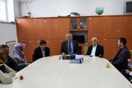 Vali Yardımcısı Türkoğlu ile İl Müdürü Kuntoğlu Öğrencilerin Kar Sevincine Ortak Oldular