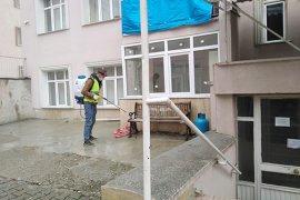 Ermenek Belediyesi İlçe Genelinde Tedbiri Elden Bırakmıyor