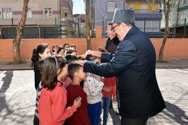 İlkokul Öğrencileri, Gazi Dedeleriyle Buluşuyor