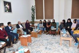 Vali Fahri Meral ve  İl Müdürü Çalışkan  Öğrencilerle  Bir Araya Geldi