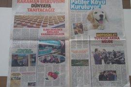 """""""Ehline Emanet"""" Gazetesi Dağıtılıyor"""