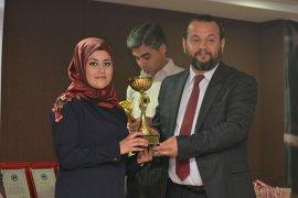 KMÜ'de Spor Oyunlarının Ödül Töreni Gerçekleştirildi