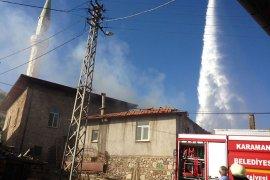 Kalaba Köyündeki Yangın İçin Tüm Yetkili Kurumlar Seferber Oldu
