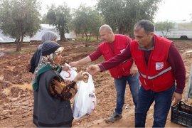 Akçaşehir'den Çıkan Yardım Tırı Afrin'e Ulaştı