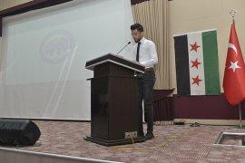 Öğrencilerden İdlib'de Yaşanan İnsanlık Dramına Tepki