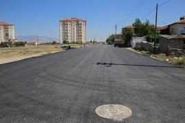 Larende Ve Sümer Mahallesi'nde Asfaltsız Sokak Kalmadı