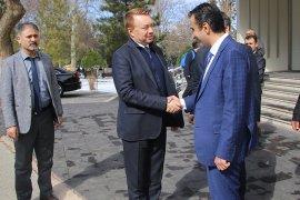Avustralya Büyükelçisinden Başkan Kalaycı'ya Ziyaret