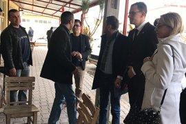 İYİ Parti Teşkilatı Kazımkarabekir'e Çıkarma Yaptı
