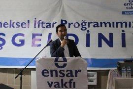 AK Parti Karaman Milletvekili Av. Hüseyin Mutlu Ensar Vakfının İftar yemeğine  katıldı.