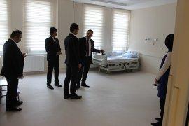 Açılışı Yapılacak Olan Ayracı Devlet Hastanesi  Yerinde İncelendi