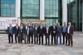 İl Sağlık Müdürü Dr. Hasan Arslan Karaman'a veda etti