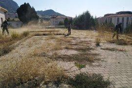 Ermenek Belediyesi'nin Okullardaki Çalışmaları Hız Kesmeden Devam Ediyor
