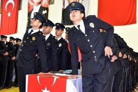 POMEM'de 262 polis adayı mezun oldu