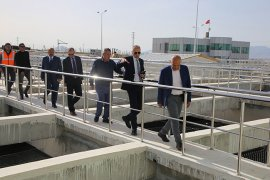 Başkan Çalışkan İçme Suyu Tesislerini İnceledi